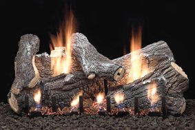Slope Glaze Burners and Ceramic Log Sets