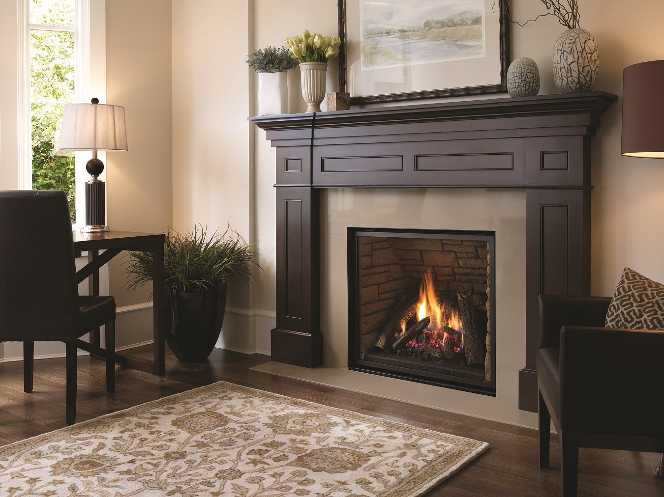 Aspen Green Gas Works Sells Gas Fireplaces and Gas Fireplace Inserts from Regency Fireplaces For Fairfax